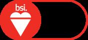 BSI Assurance Mark ISO 9001 Red