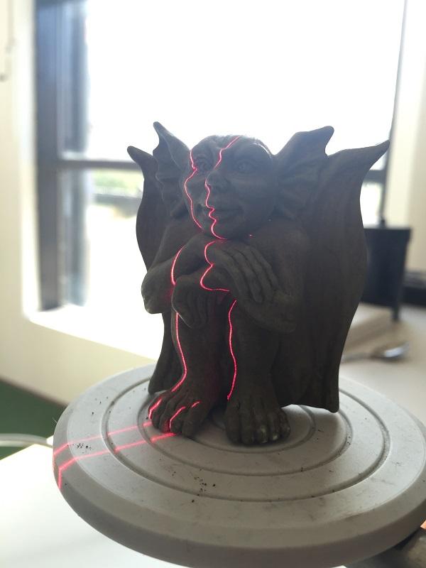 3D scanning devil