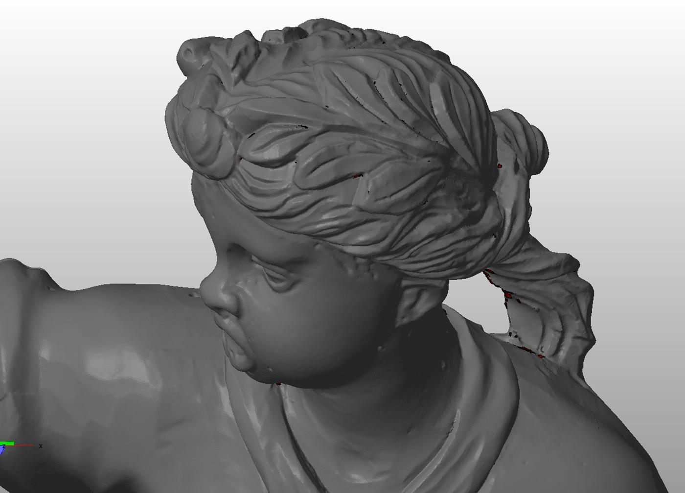 3D scanning monument