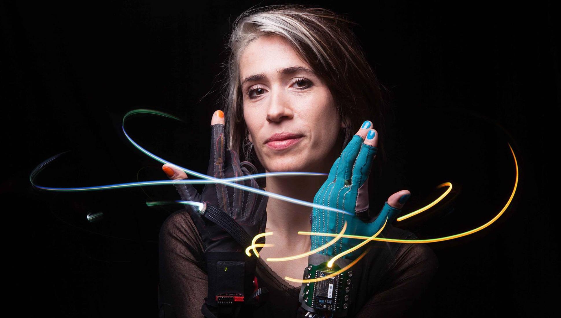 Mi.Mu wearable music technology gloves imogen heap